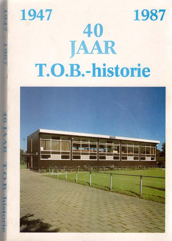 Omslag 40jr TOB historie