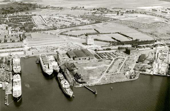 Luchtfoto NDSM Werf 1983