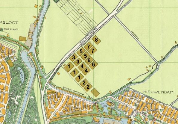 voetbalvelden Buikslotermeer ca 1940
