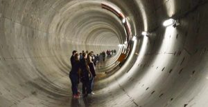 Tunnelgang Noord zuidlijn