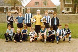 Schellingwoude jaren 80 met Davids en Kluivert