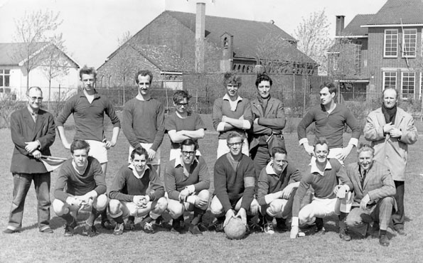 Flora Boys 1968 elftalfoto