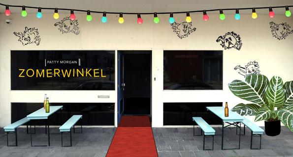 zomerwinkel exterieur Amsterdam-Noord