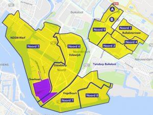 overzicht betaald parkeren Amsterdam-Noord